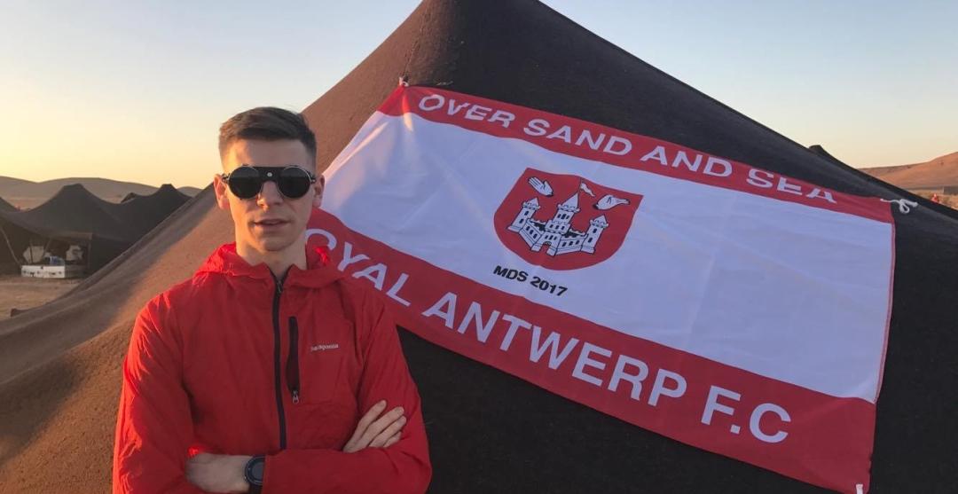 Maxim Laenen loopt de AntwerpUltra