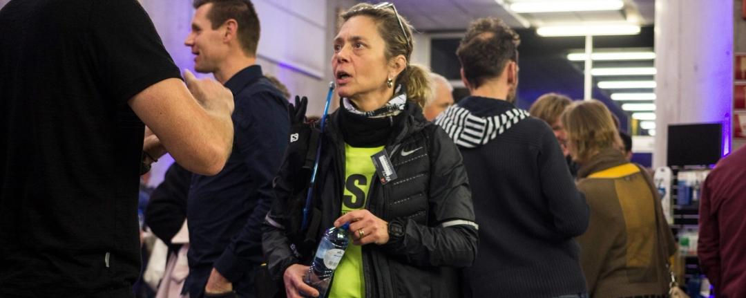 Sionna Barrois loopt de AntwerpUltra