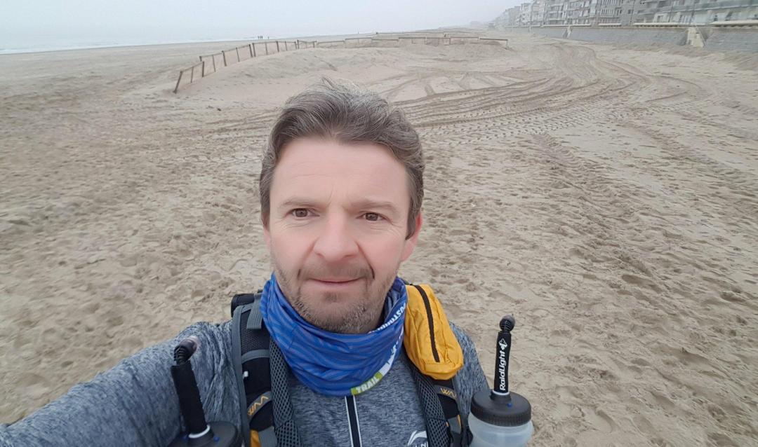 Peter Timmermans loopt de AntwerpUltra
