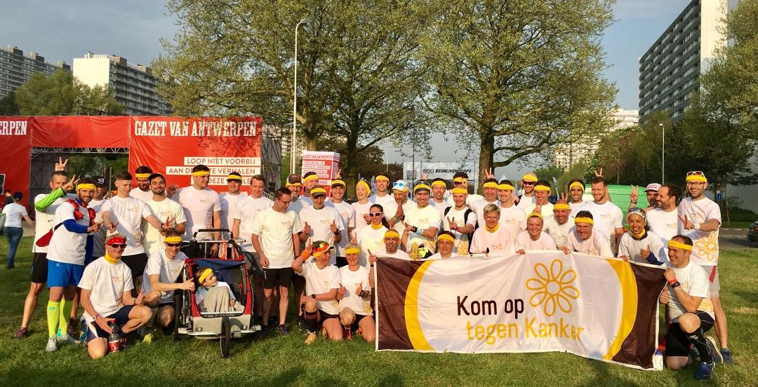 Hommes Forts Foundation verzamelt €10.000 voor Kom Op Tegen Kanker